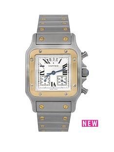 cartier-cartier-pre-owned-gents-bimetal-santos-chronograph-watch-ref-2425
