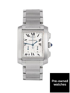 cartier-cartier-pre-owned-gents-steel-tank-francaise-chronoflex-watch-ref-2303