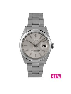 rolex-rolex-pre-owned-oyster-perpetual-date-watch-silver-dial-ref-1500