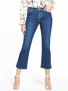 v-by-very-cropped-kicklare-mid-vintage-wash