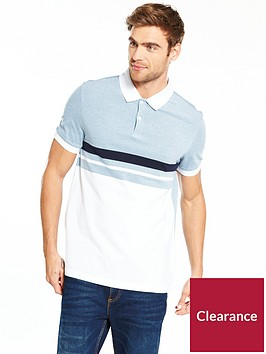 v-by-very-short-sleev-block-stripe-jersey-polo