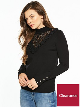 v-by-very-lace-frill-yoke-turtle-neck-button-cuff-jumper