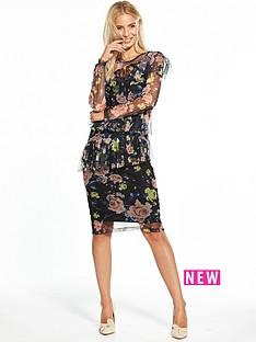 v-by-very-mesh-floral-midi-dress