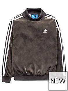 adidas-originals-adidas-originals-older-girls-velour-sweat-top