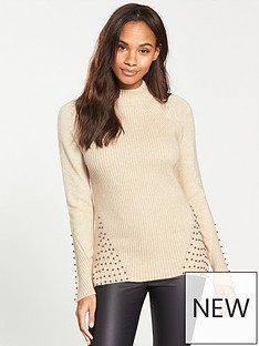 v-by-very-pearl-rib-jumper-oatmeal