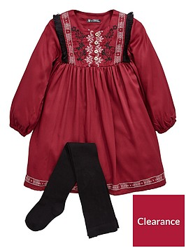 mini-v-by-very-girls-embroided-folk-dress-amp-tights-set-multi