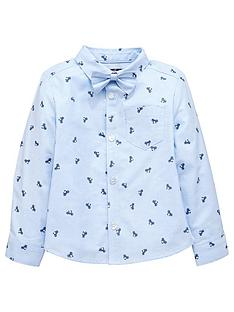mini-v-by-very-boys-bicycle-print-shirt-with-bow-tie