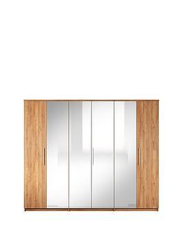 home-essentials--nbspprague-6-door-mirrored-wardrobe