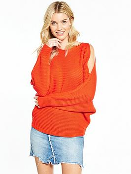 v-by-very-cold-shoulder-batwing-rib-jumper