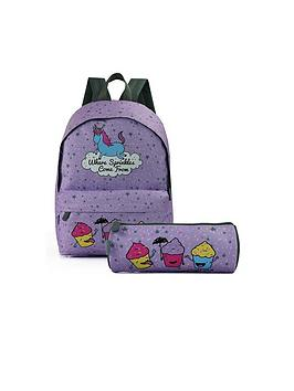 David & Goliath Sprinkles Backpack And Pencil Case Set
