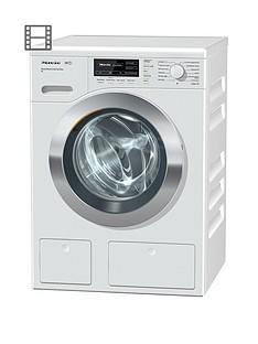 Miele WKH 122 WPS 9kg Load, 1600 Spin Washing Machine with TwinDosDetergentSystem - White
