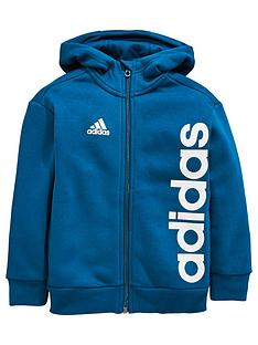 adidas-adidas-toddler-boy-linear-logo-full-zip-hoody