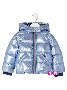 river-island-mini-girls-blue-metallic-padded-coat