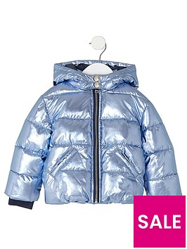 river-island-mini-girls-blue-metallic-padded-coat