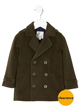 river-island-mini-boys-khaki-green-pea-coat