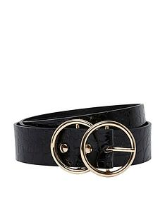 river-island-river-island-black-double-ring-jeans-belt
