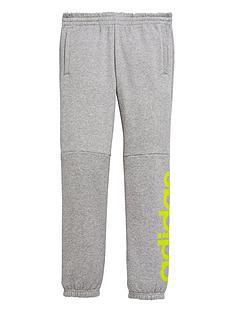 adidas-older-boy-linear-logo-pant