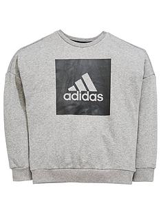 adidas-older-boys-logo-sweat
