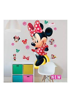 minnie-mouse-walltastic-minnie-mouse-large-character-sticker-set