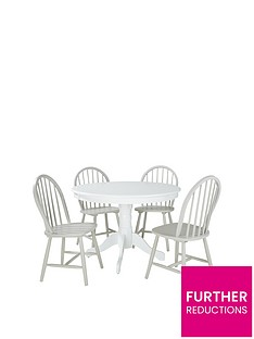 daisy-107-cm-round-dining-table-4-chairs-whitegrey