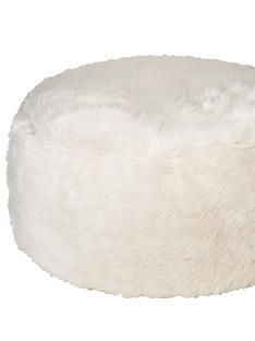 kaikoo-faux-fur-foot-stool