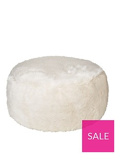 kaikoo-faux-fur-footstool