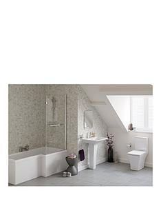 indulge-right-hand-showerbath-suite-ndash-includes-bath-bath-screen-pedestal-basin-toilet-and-taps