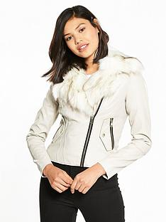 river-island-river-island-pu-biker-jacket-with-faux-fur-collar