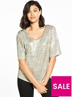 river-island-metallic-wrap-t-shirt