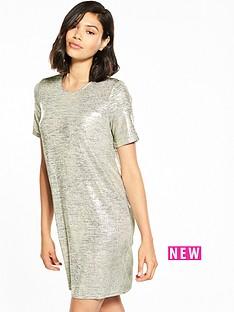 river-island-metallic-t-shirt-dress