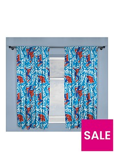 marvel-ultimate-spiderman-pop-art-pleated-curtains
