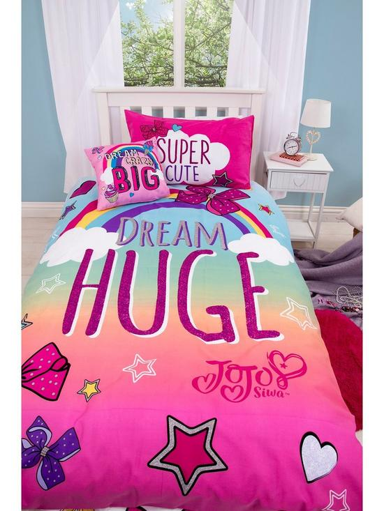 Jojo Siwa Unicorn Blanket Duvet With Ons Emoji Bettbezug