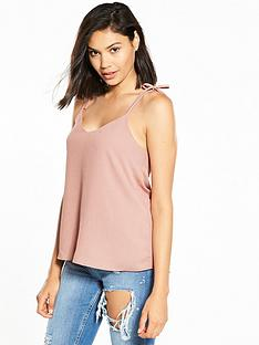 river-island-bow-detail-cami-top