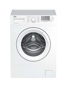 Beko Wtg741M1W 7Kg Load, 1400 Spin Washing Machine - White Best Price, Cheapest Prices