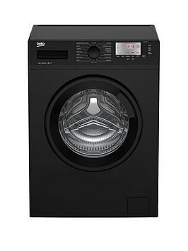 beko-wtg741m1bnbsp7kg-load-1400-spin-washing-machine-next-day-delivery-black