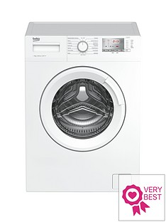 Beko WTG841M2W 8kg Load, 1400 Spin Washing Machine - White