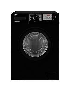 Beko WTG841M2B 8kg Load, 1400 Spin Washing Machine - Black