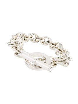 karen-millen-plated-swarovski-encrusted-bracelet