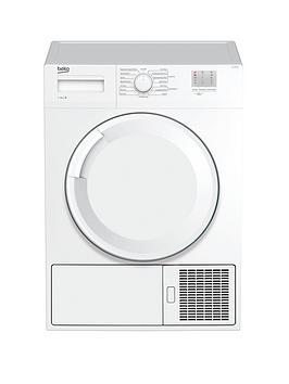 Beko Dtgc7000W 7Kg Load, Full Size Condenser Sensor Dryer - White