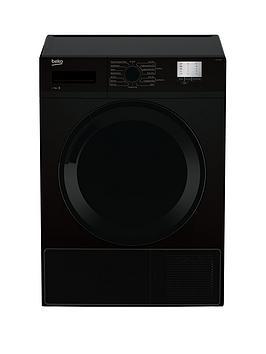 Beko Dtgc7000B 7Kg Load, Full Size Condenser Sensor Dryer – Black