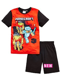 minecraft-boys-shorty-pyjamas