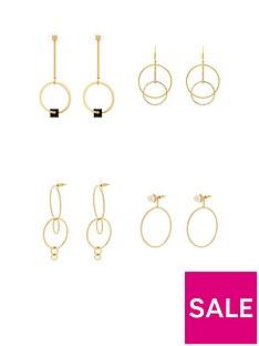 v-by-very-4pk-hoop-detail-earrings