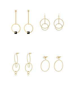 v-by-very-4pk-hoop-detail-earrings