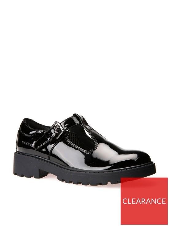 60ad5744e1d Geox Casey Girls T-bar School Shoe   very.co.uk