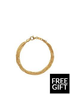 links-of-london-essentials-silk-18kt-yellow-gold-vermeil-10-row-bracelet