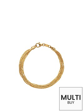 links-of-london-essentials-silk-18kt-yellow-gold-vermeil-10-row-braceletnbspadd-item-lxv4l-to-basket-to-receive-free-bracelet-with-purchase-for-limited-time-only
