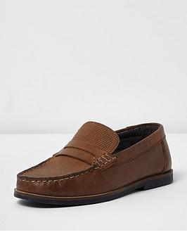 river-island-boys-embossed-loafer
