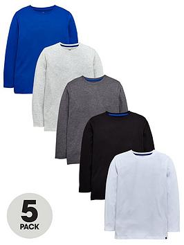 v-by-very-5-pack-boys-long-sleeve-t-shirts