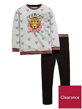 v-by-very-tiger-floral-print-amp-legging-set-grey