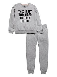 v-by-very-too-tired-to-talk-loungewear-set